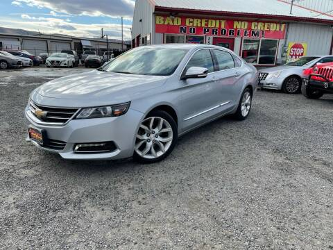 2015 Chevrolet Impala for sale at Yaktown Motors in Union Gap WA