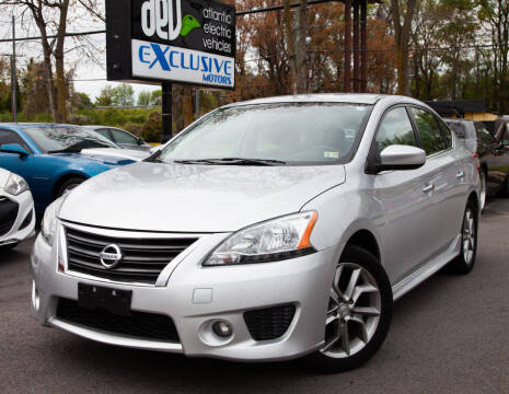 2013 Nissan Sentra for sale at EXCLUSIVE MOTORS in Virginia Beach VA