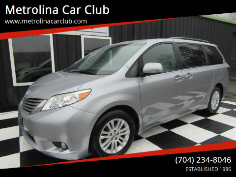 2017 Toyota Sienna for sale at Metrolina Car Club in Matthews NC