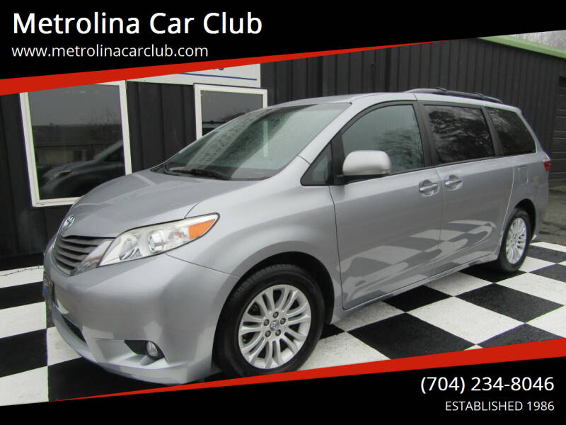 2017 Toyota Sienna for sale at Metrolina Car Club in Matthews NC