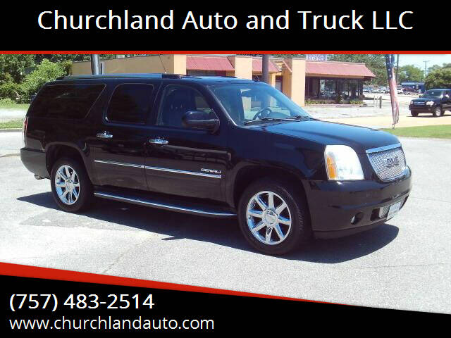 2011 GMC Yukon XL for sale at Churchland Auto and Truck LLC in Portsmouth VA