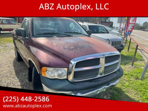 2003 Dodge Ram Pickup 1500 for sale at ABZ Autoplex, LLC in Baton Rouge LA