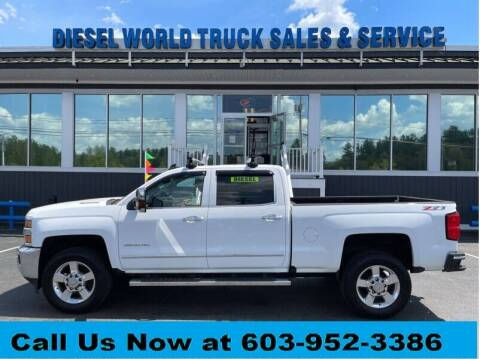 2016 Chevrolet Silverado 2500HD for sale at Diesel World Truck Sales in Plaistow NH