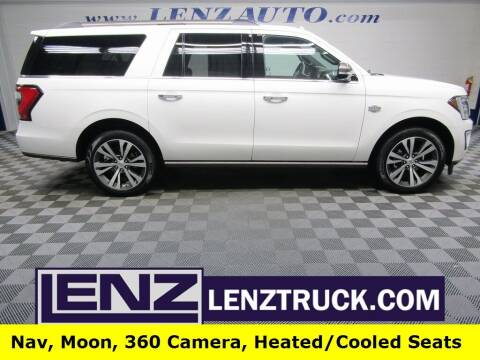 2021 Ford Expedition MAX for sale at LENZ TRUCK CENTER in Fond Du Lac WI