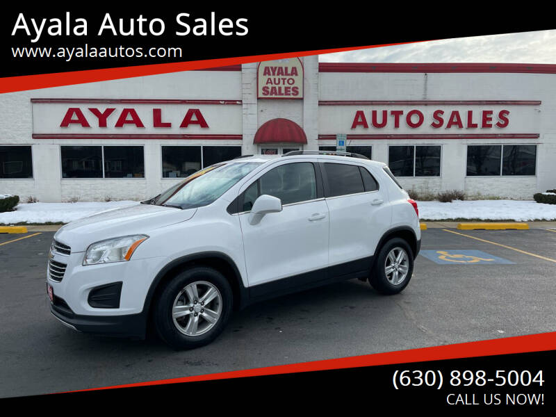 2016 Chevrolet Trax for sale at Ayala Auto Sales in Aurora IL