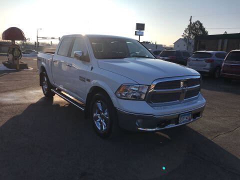 2018 RAM Ram Pickup 1500 for sale at Carney Auto Sales in Austin MN