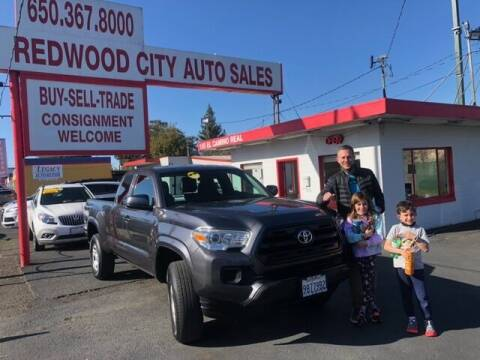 2017 Toyota Tacoma for sale at Redwood City Auto Sales in Redwood City CA