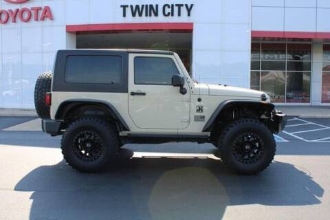 2011 Jeep Wrangler for sale at Twin City Toyota in Herculaneum MO