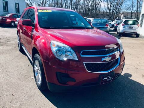 2013 Chevrolet Equinox for sale at SHEFFIELD MOTORS INC in Kenosha WI