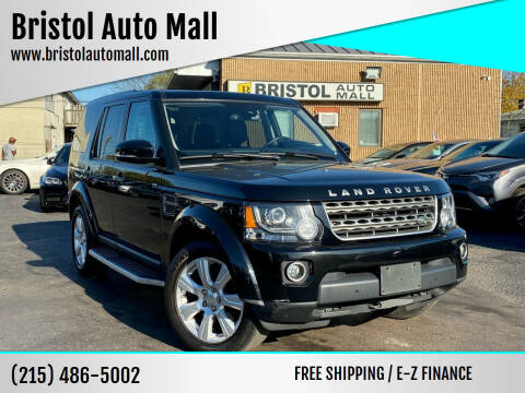 2015 Land Rover LR4 for sale at Bristol Auto Mall in Levittown PA