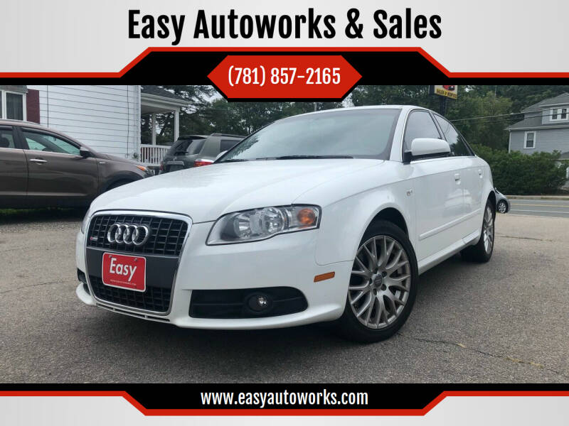 2008 Audi A4 for sale at Easy Autoworks & Sales in Whitman MA