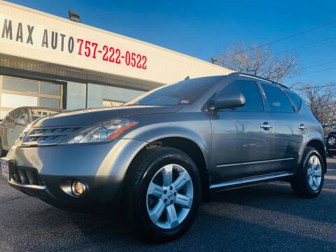 2006 Nissan Murano for sale at Trimax Auto Group in Norfolk VA