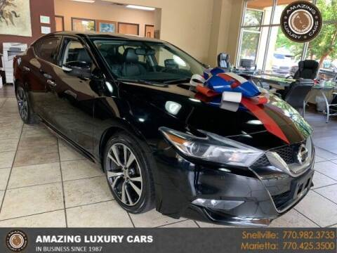 2017 Nissan Maxima for sale at Amazing Luxury Cars in Snellville GA