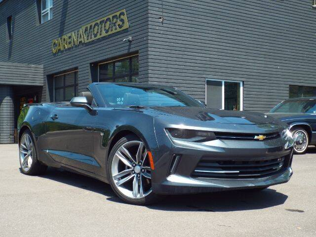 2017 Chevrolet Camaro for sale at Carena Motors in Twinsburg OH