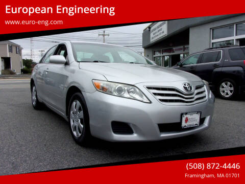 2011 Toyota Camry for sale at European Engineering in Framingham MA