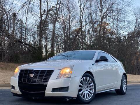 2012 Cadillac CTS for sale at Top Notch Luxury Motors in Decatur GA