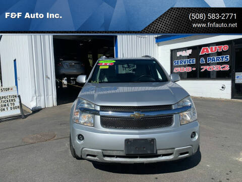 2009 Chevrolet Equinox for sale at F&F Auto Inc. in West Bridgewater MA