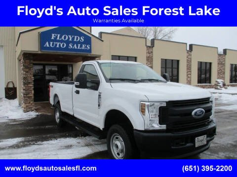 2018 Ford F-250 Super Duty for sale at Floyd's Auto Sales Forest Lake in Forest Lake MN
