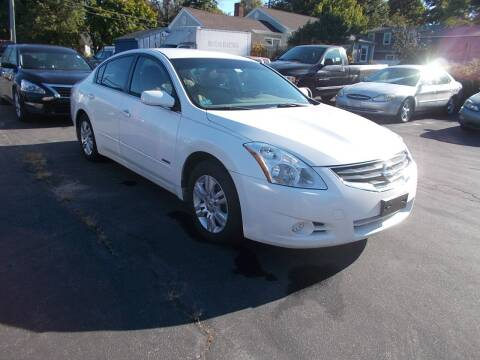 2010 Nissan Altima Hybrid for sale at MATTESON MOTORS in Raynham MA