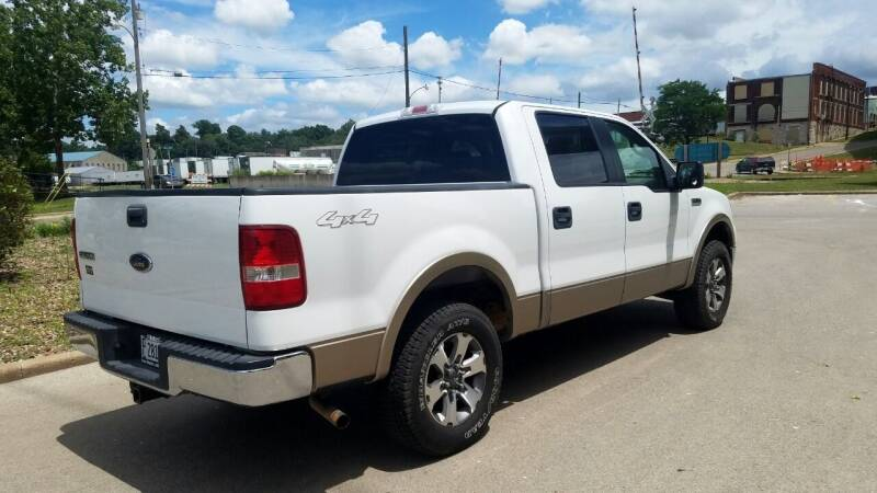 2005 Ford F-150 Lariat 4dr SuperCrew 4WD Styleside 5.5 ft. SB - Quincy IL