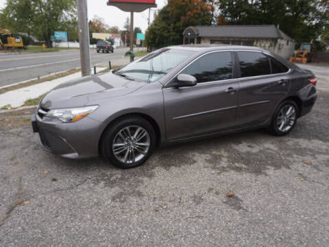 2016 Toyota Camry for sale at Colonial Motors in Mine Hill NJ