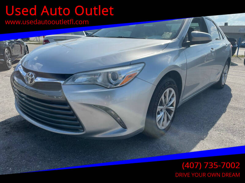 2015 Toyota Camry for sale at Used Auto Outlet in Orlando FL