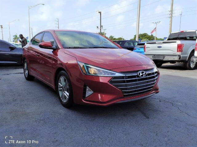 2020 Hyundai Elantra for sale at Start Auto Liquidation Center in Miramar FL