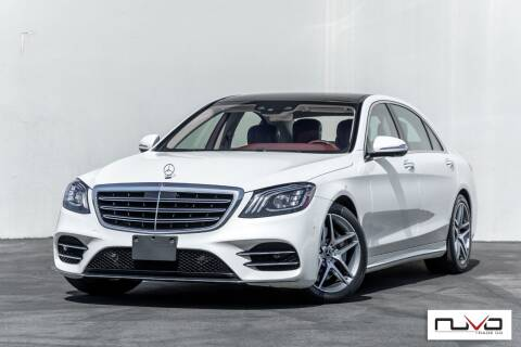 2018 Mercedes-Benz S-Class for sale at Nuvo Trade in Newport Beach CA