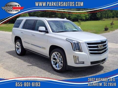 2018 Cadillac Escalade for sale at Parker's Used Cars in Blenheim SC