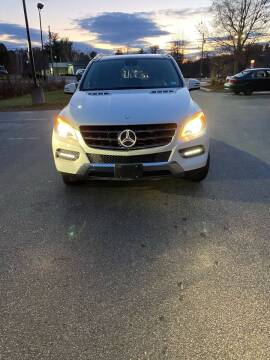 2014 Mercedes-Benz M-Class for sale at Heritage Truck and Auto Inc. in Londonderry NH