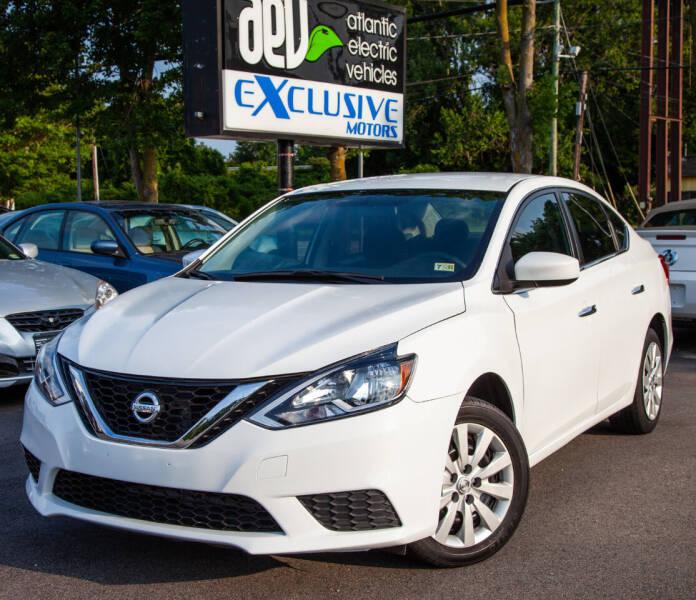 2017 Nissan Sentra for sale at EXCLUSIVE MOTORS in Virginia Beach VA