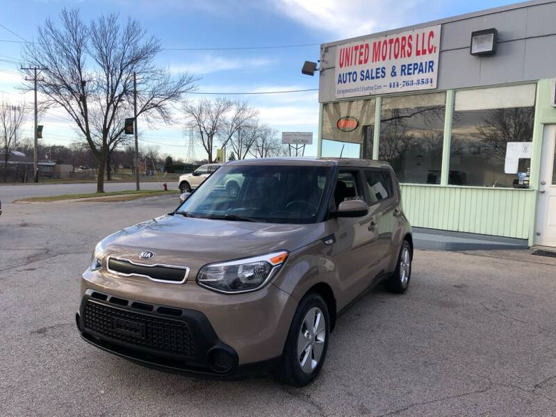 2014 Kia Soul for sale at United Motors LLC in Saint Francis WI