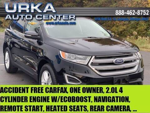 2017 Ford Edge for sale at Urka Auto Center in Ludington MI