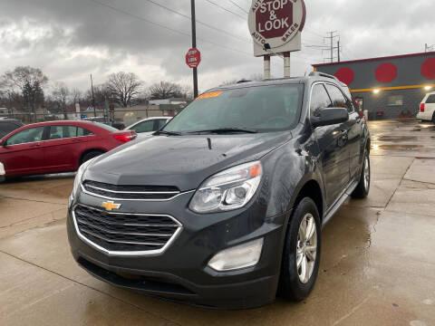 2017 Chevrolet Equinox for sale at Matthew's Stop & Look Auto Sales in Detroit MI