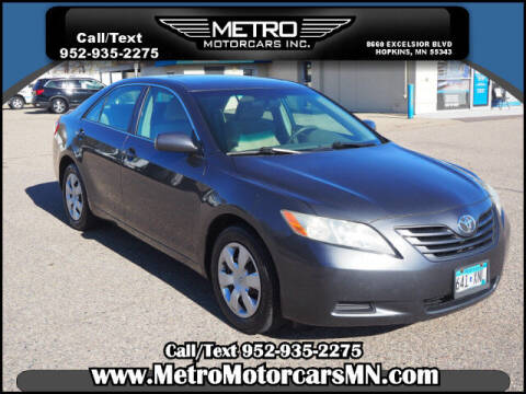 2009 Toyota Camry for sale at Metro Motorcars Inc in Hopkins MN