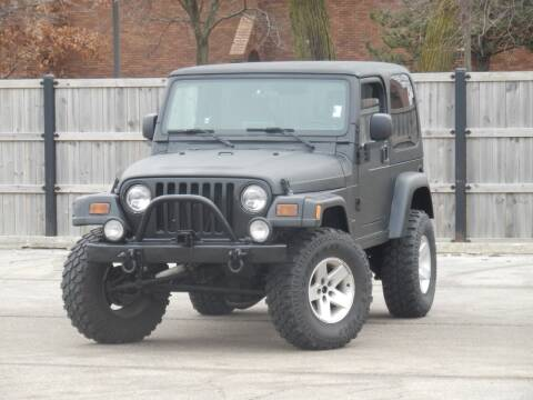 2003 Jeep Wrangler for sale at Moto Zone Inc in Melrose Park IL