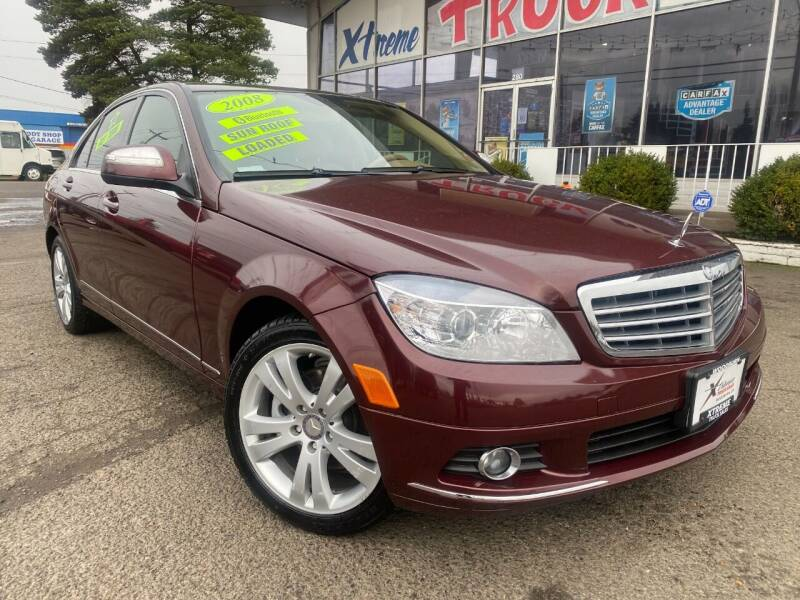 2008 Mercedes-Benz C-Class for sale at Xtreme Truck Sales in Woodburn OR