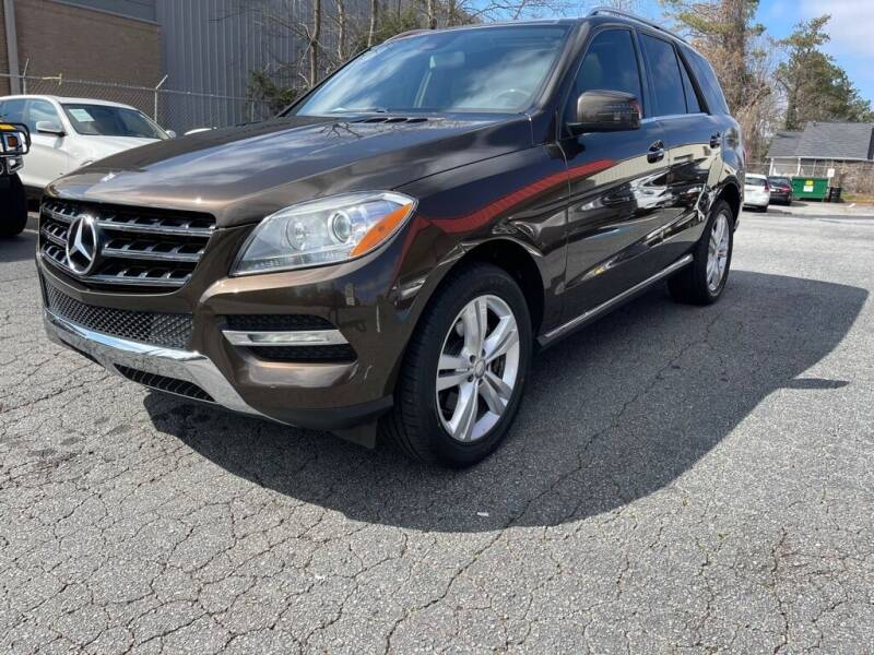2013 Mercedes-Benz M-Class for sale at Quality Autos in Marietta GA