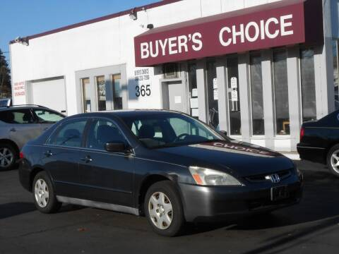 2005 Honda Accord for sale at Buyers Choice Auto Sales in Bedford OH