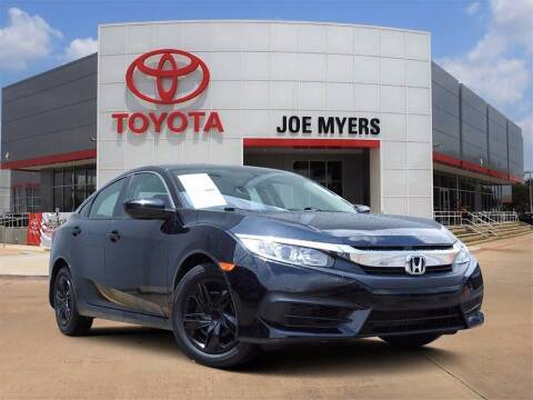 2017 Honda Civic for sale at Joe Myers Toyota PreOwned in Houston TX