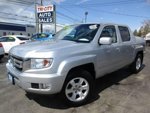 2011 Honda Ridgeline for sale at TRI CITY AUTO SALES LLC in Menasha WI