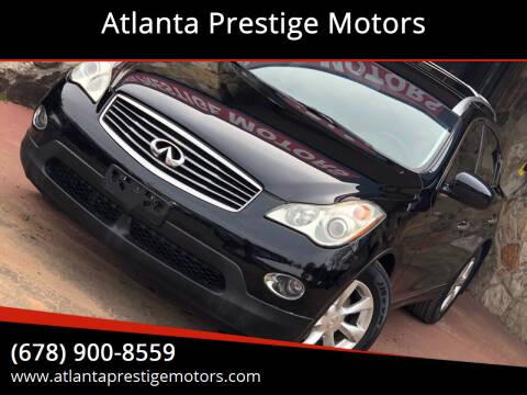 2009 Infiniti EX35 for sale at Atlanta Prestige Motors in Decatur GA