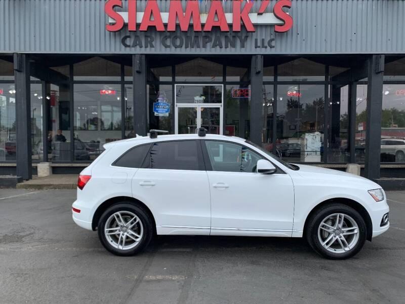 2014 Audi Q5 for sale at Siamak's Car Company llc in Salem OR