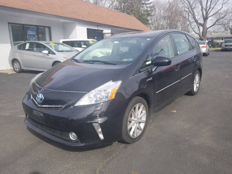 2012 Toyota Prius v for sale at Cedar Auto Group LLC in Akron OH