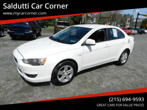 2009 Mitsubishi Lancer for sale at Saldutti Car Corner in Gilbertsville PA