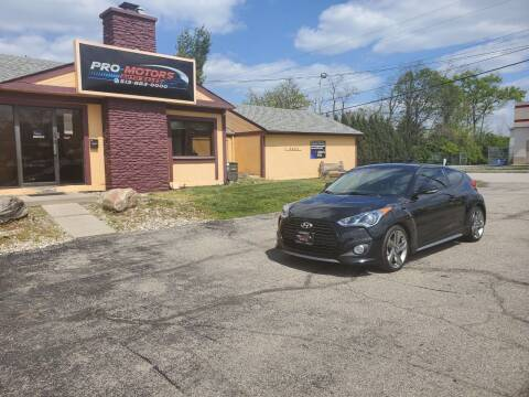 2013 Hyundai Veloster for sale at Pro Motors in Fairfield OH