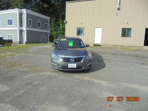 2014 Nissan Altima for sale at Exclusive Auto Sales & Service in Windham NH