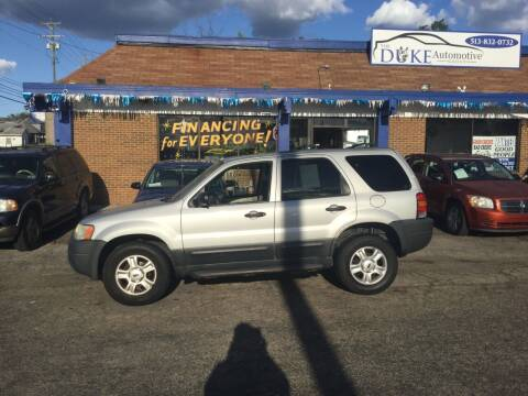 2004 Ford Escape for sale at Duke Automotive Group in Cincinnati OH