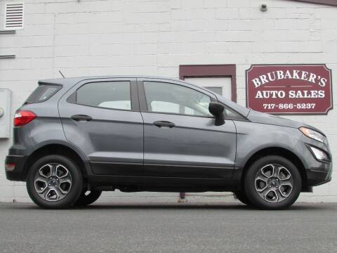 2018 Ford EcoSport for sale at Brubakers Auto Sales in Myerstown PA