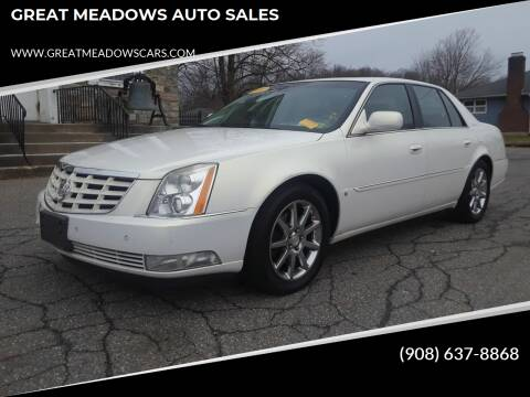 2006 Cadillac DTS for sale at GREAT MEADOWS AUTO SALES in Great Meadows NJ